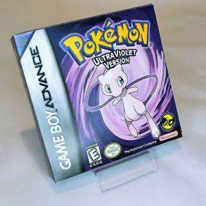 Pokemon Ultra Violet Version κασέτα & κουτάκι Game Boy Gesto_official