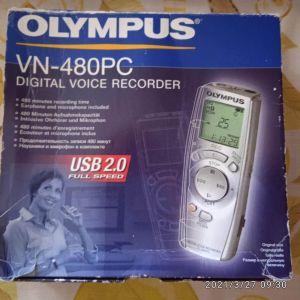 Olympus VN-480 PC Δημοσιογραφικό κασετοφωνάκι. Τιμή 69 ευρώ.