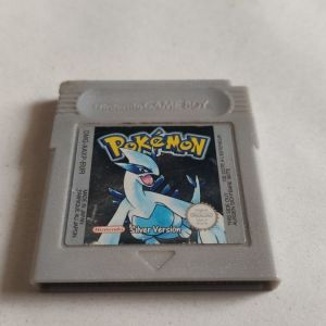 AUTHENTIC Pokemon Silver Version Save Properly New Battery Game Boy Color