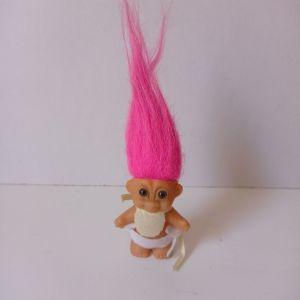 Ευχούλης Κουκλάκι Baby troll doll vintage