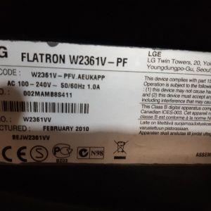 LG Flatron W2361V  ---- Οθονη υπολογιστη
