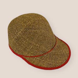 Vintage ψάθινο καπέλο
