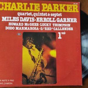 Charlie Parker Quartet vinyl LP album