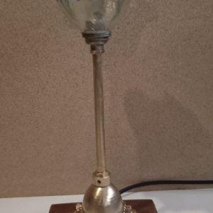 πορτατίφ χειροποίητο με διάφορα γυαλιά μπρούτζινο 32 cm