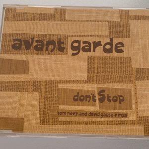 Avant garde - Don't stop 5-trk cd single