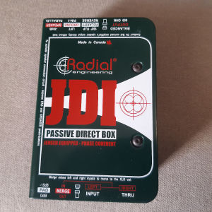 RADIAL JDI passive DI, with jensen transformer.