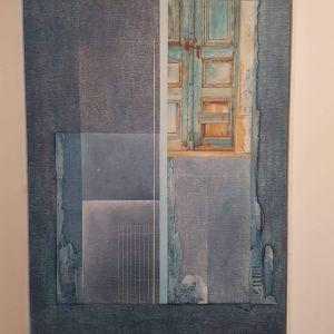 Πίνακας ( ελαιογραφια ), του διασημου Γερμανου ζωγραφου Hermann Franz Blauth (1984).  Διαστασεις 090 Χ 0,60 Ηράκλειο - Κρήτης