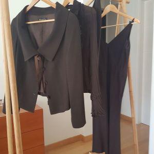 Rococo σετ Σακάκι+πουκάμισο+φούστα+φόρεμα