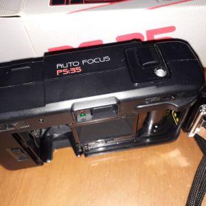 Φωτογραφική μηχανή VIVITAR AUTO FOCUS DX  PS:35, έτους 1986,  σε αριστη κατασταση.