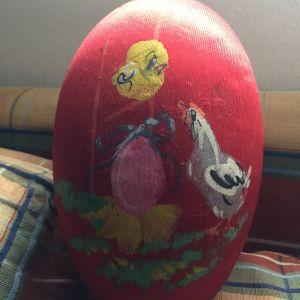 Αυγο πασχαλινό vintage