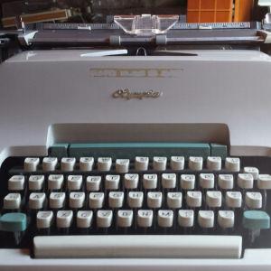 Γραφομηχανη Olympia Werke AG West Germany 70's