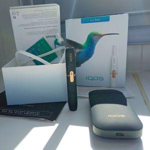 Πωλείται καινούργια συσκευή καπνίσματος iqos 2.4plus καινούργια με μόνο μια δοκιμαστική χρήση!