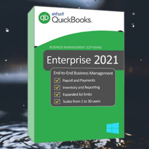 New Intuit Quickbooks Entreprise Solutions 2021
