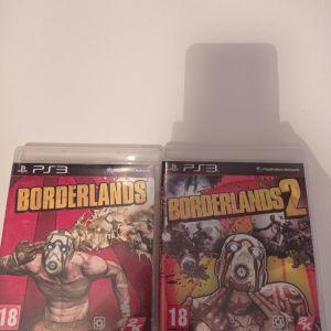 Borderlands 1, 2 ps3