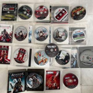 15 ΠΑΙΧΝΊΔΙΑ PS3 σε άριστη κατάσταση Και ένα PS3 1st edition