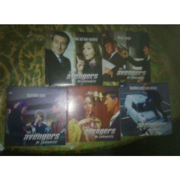 DVD THE AVENGERS-i ekdikites 5 DVD