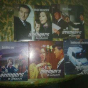 DVD THE AVENGERS-ΟΙ ΕΚΔΙΚΗΤΕΣ 5 DVD