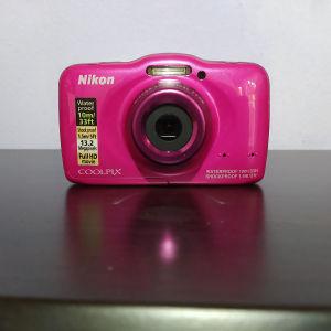 Αδιάβροχη Nikon Coolpix S32