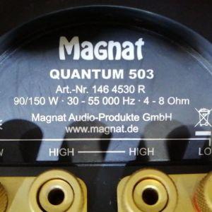 ΗΧΕΙΑ...MAGNAT QUANDUM-503...( 150 Watt )