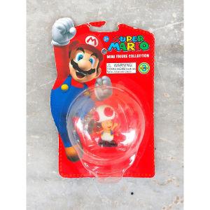 Super Mario Συλλεκτική Φιγούρα Μανιτάρι Toad