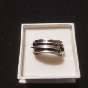δαχτυλίδι ασημένιο 6