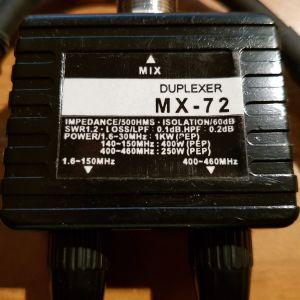 Vertex Duplexer MX-72