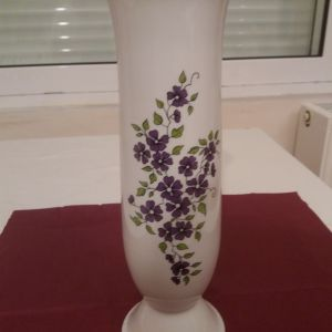 Βάζο ψηλό ζωγραφισμένο στο χέρι
