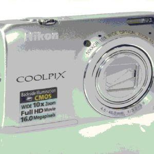 Nikon Coolpix S6300 - Ασημί