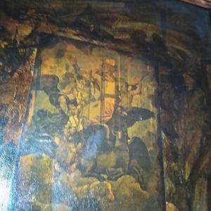 πίνακας εποχής με το όραμα του Ιεζεκιήλ