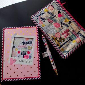 Σετ παιδικό-νεανικό σημειωματάριο-στυλό-πορτοφόλι