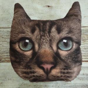 Διακοσμητικό μαξιλάρι *Σχήμα γάτα*.