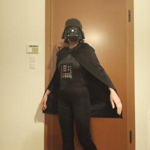 Αποκριάτικη στολή Darth Vader παιδική σε άριστη κατάσταση