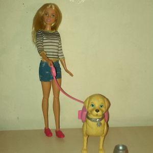 Barbie Walk & Potty Pup (Mattel)