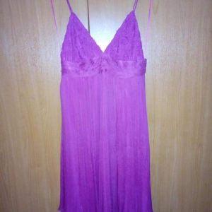 Νο Μ  100% silk  Φούξια χρώμα.  Μασχάλη 40  Μήκος από τη μασχάλη 69  Ολοκαίνουργιο με ταμπέλα του. Τιμή 20€ από 90€