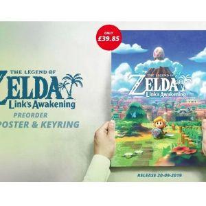 Zelda Link's Awakening συλλεκτικό μπρελόκ keyring