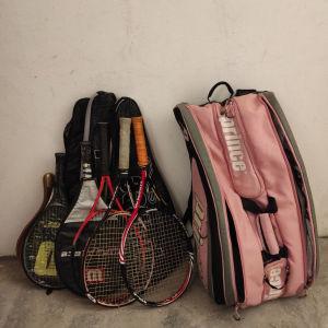 Ρακέτες tennis παιδικες και τσάντα