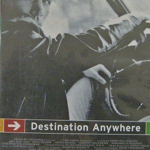 "JOHN BON JOVI ""DESTINATION ANYWHERE"" - ΚΑΣΕΤΑ VHS"