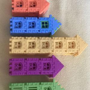 Παιδικά τουβλάκια για απίθανες κατασκευές για μικρούς και μεγάλους