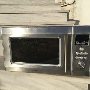 ΠΩΛΕΊΤΑΙ φούρνος μικροκυμάτων ανοξείδωτος με grill 2000 W της Kenwood