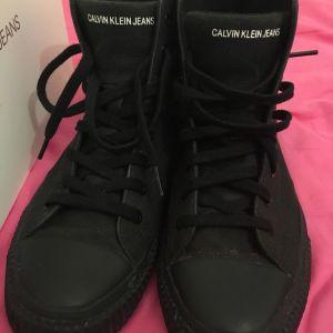 Calvin Klein Logo Boots.