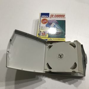 Aidata CD Carrier: Σκληρή θήκη της Aidata για μεταφορά 10 CD ή DVD