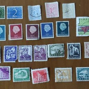 Γραμματόσημα από Ολλανδία Βέλγιο Ρουμανία Πολωνία Συλλεκτικά 27 τεμάχια
