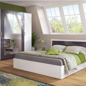 Σετ κρεβατοκάμαρας κομπλέ. Κρεβάτι 160Χ200, τετράφυλλη ντουλάπα, 2 κομοδίνα και στρώμα μονόπλευρο!!