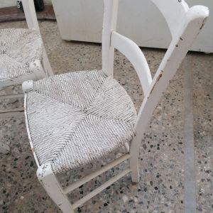 3 Καρέκλες ψαθινες