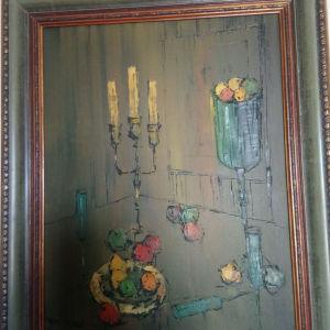 Πίνακας με Σπάτουλα