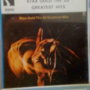 STAX GOLD-THE 20 GREATEST HITS-ΚΑΣΣΕΤΑ ΣΦΡΑΓΙΣΜΕΝΗ