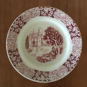 Vintage πορσελάνινο πιάτο Petrus Regout & Co Maastricht