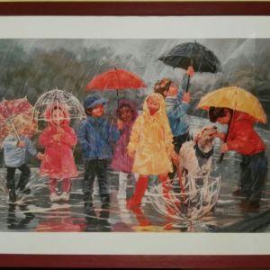 """ΚΑΔΡΟ """"Children in the Rain"""""""