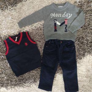 Βρεφικά ρούχα, 4 σετ έως 18 μηνών