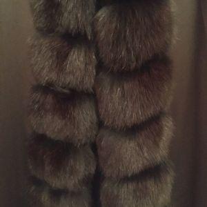 Μπουφάν με αληθινή γούνα
